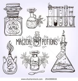 Alchemy clipart theme