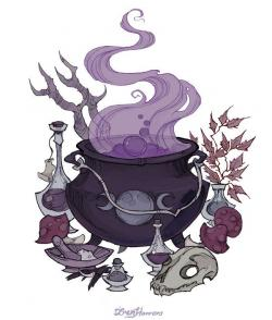 Occult clipart witch