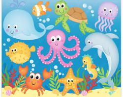 Marine Life clipart sea creature