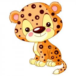Cheetah clipart adorable