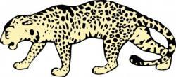 Leopard clipart ocelot