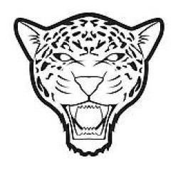 Ocelot clipart jaguar head