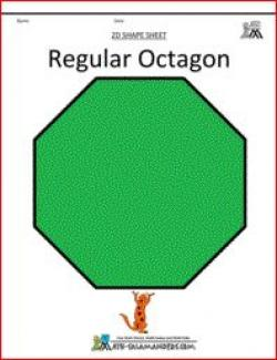 Octigons clipart 2d shapes