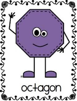 Octigon clipart octagon shape