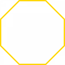 Octigons clipart rectangular