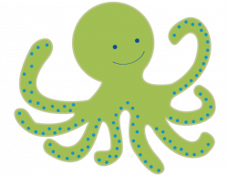 Cute clipart octopus