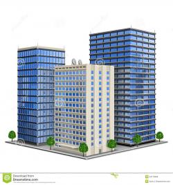 Bulding  clipart corporate building