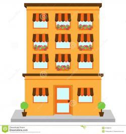 Apartment Complex clipart condo