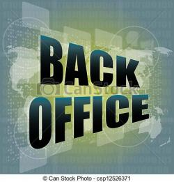 Office clipart back office