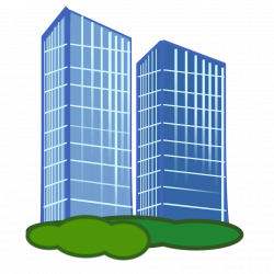 Skyscraper clipart transparent building