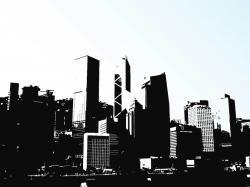 Hong Kong clipart Hong Kong Skyline Clipart
