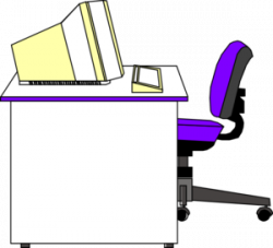 Office clipart office desk