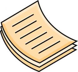 Paper clipart document