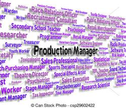 Warehouse clipart production manager