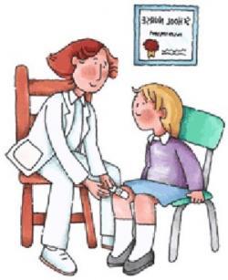 Nurse clipart school clinic