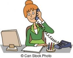 Office clipart secretary
