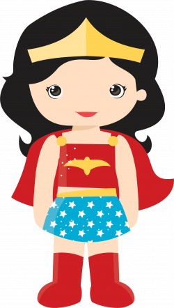 Professional clipart supe woman