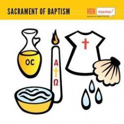 Oil clipart baptism