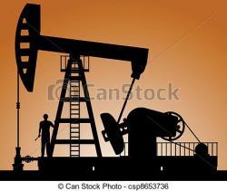 Oil Rig clipart crude oil