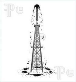 Oil Rig clipart texas