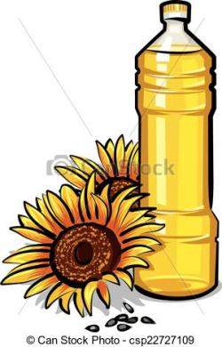 Olive Oil clipart sunflower oil
