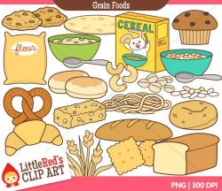 Grains clipart healthy food