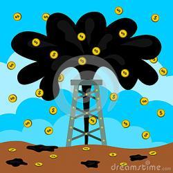 Oil clipart geyser