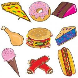 Snack clipart lot food