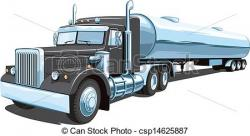 Truck clipart fuel truck