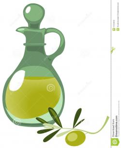Olive Oil clipart oil bottle