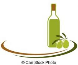 Olive Oil clipart glass