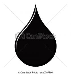 Oil clipart oil drop