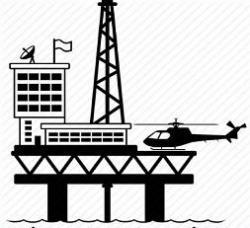 Oil Rig clipart oil platform