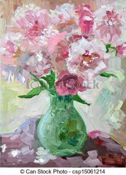 Vase-painting clipart artwork