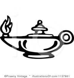 Genie Lamp clipart oil lamp