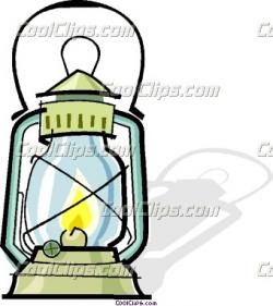 Oil Lamp clipart camping