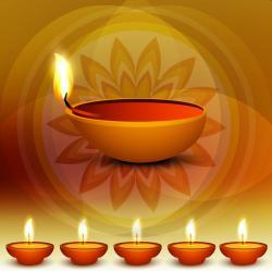 Oil Lamp clipart diwali 2015