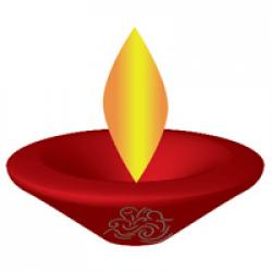Oil Lamp clipart flame