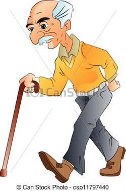 Arab clipart old man