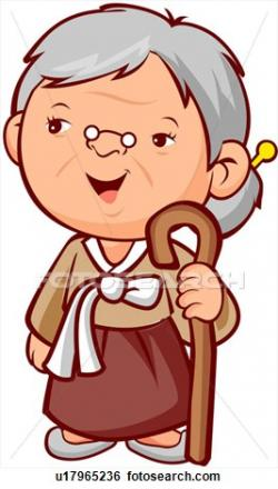 Women clipart old age