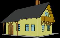 Balcony clipart house
