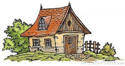 Bungalow clipart cottage