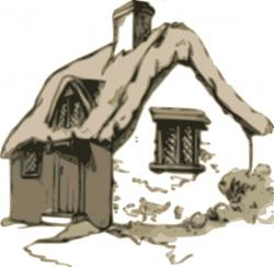 Cottage clipart old house