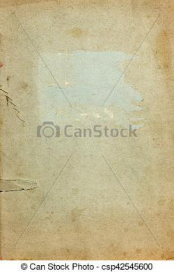 Old Letter clipart cover page