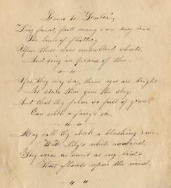 Old Letter clipart handwritten