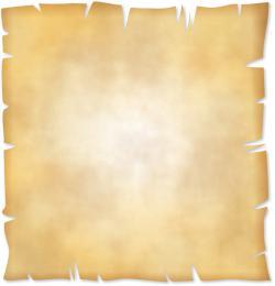 Paper clipart parchment