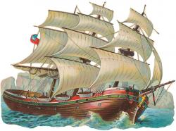 Old Sailing Ships clipart