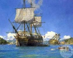 Old Sailing Ships clipart harbour