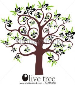 Barren clipart olive tree
