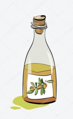 Olive Oil clipart jug